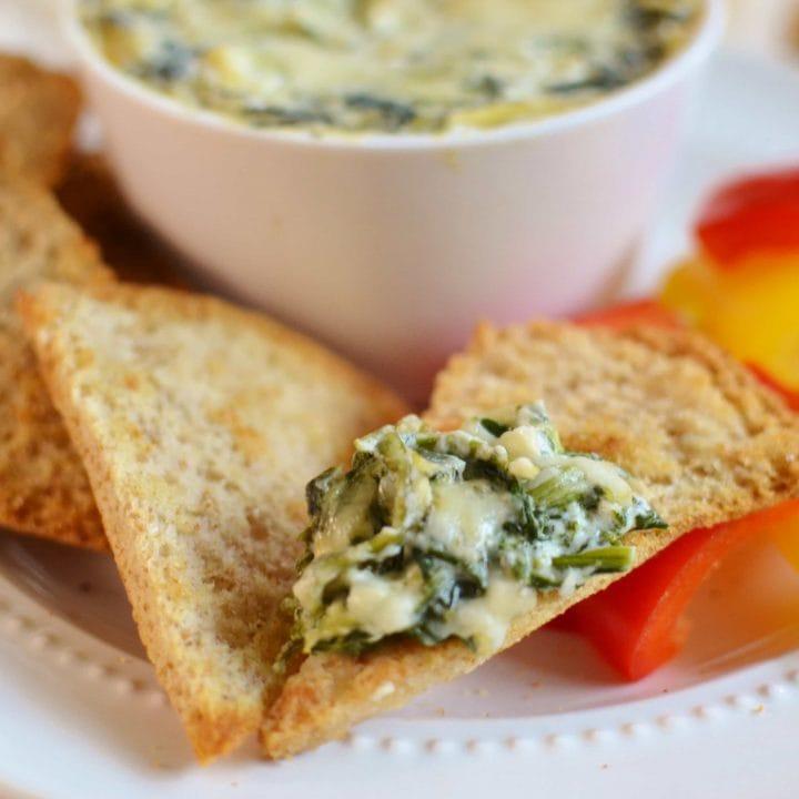 21 Day Fix Spinach and Artichoke Dip