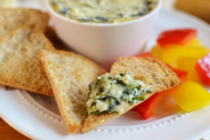 21 Day Fix Spinach and Artichoke Dip