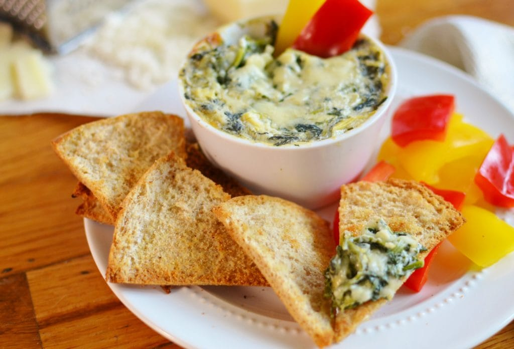 """Fixified"" Spinach and Artichoke Dip"