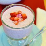 Strawberry Cheesecake Chia Seed Pudding