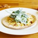 Apple-Goat Cheese Pita Pizza