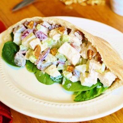 Waldorf Chicken Salad Pita Pocket