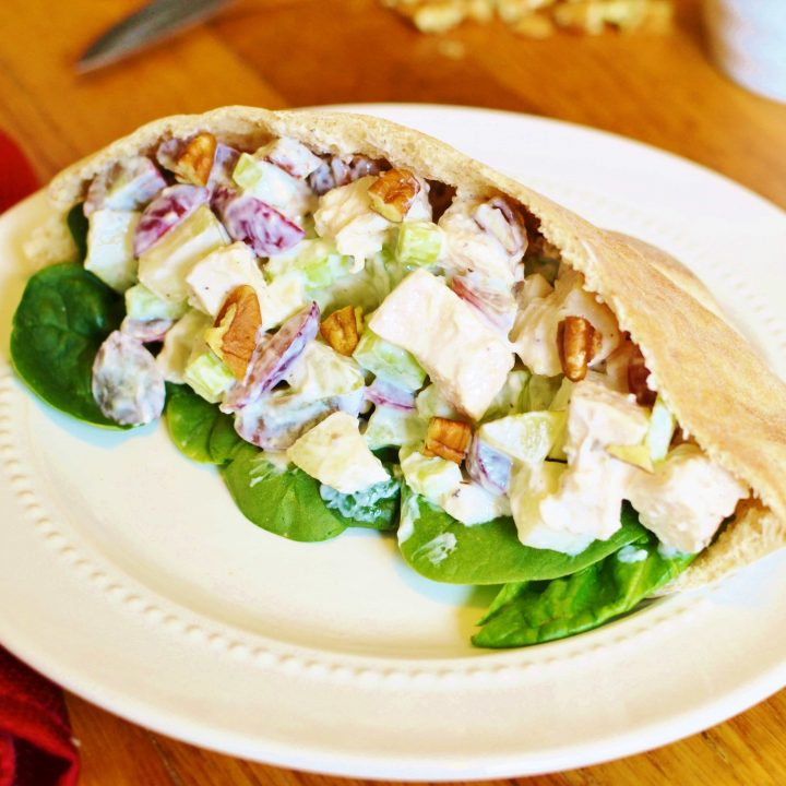 21 Day Fix Waldorf Chicken Salad Pocket