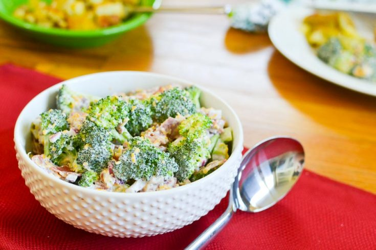 """Fixified"" Broccoli Salad"