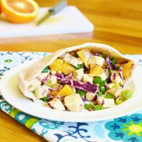 Asian Chicken Salad Pita Pocket