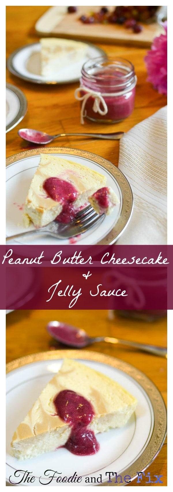 PBJ Cheesecake