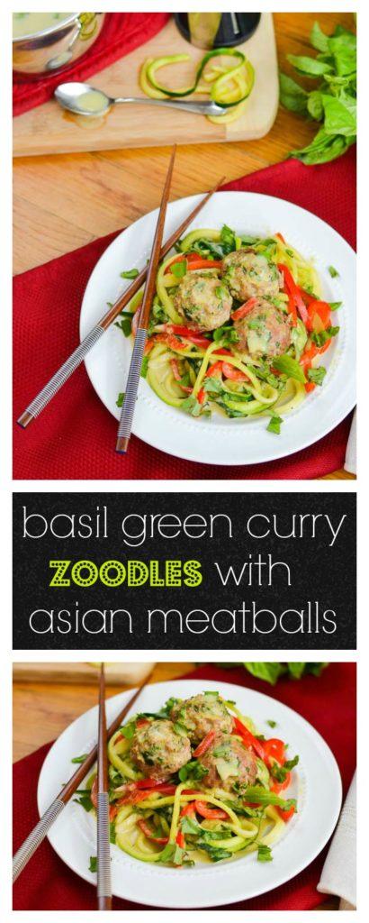 Zoodles & Meatballs