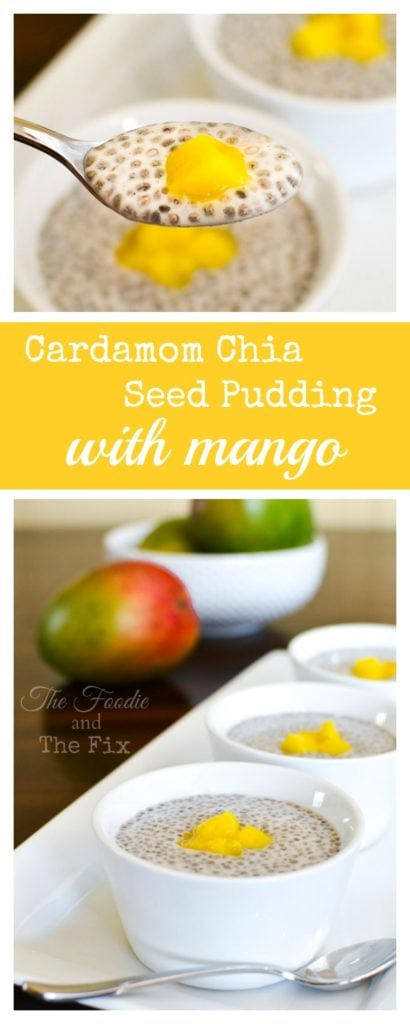 Cardamom Chia Pudding