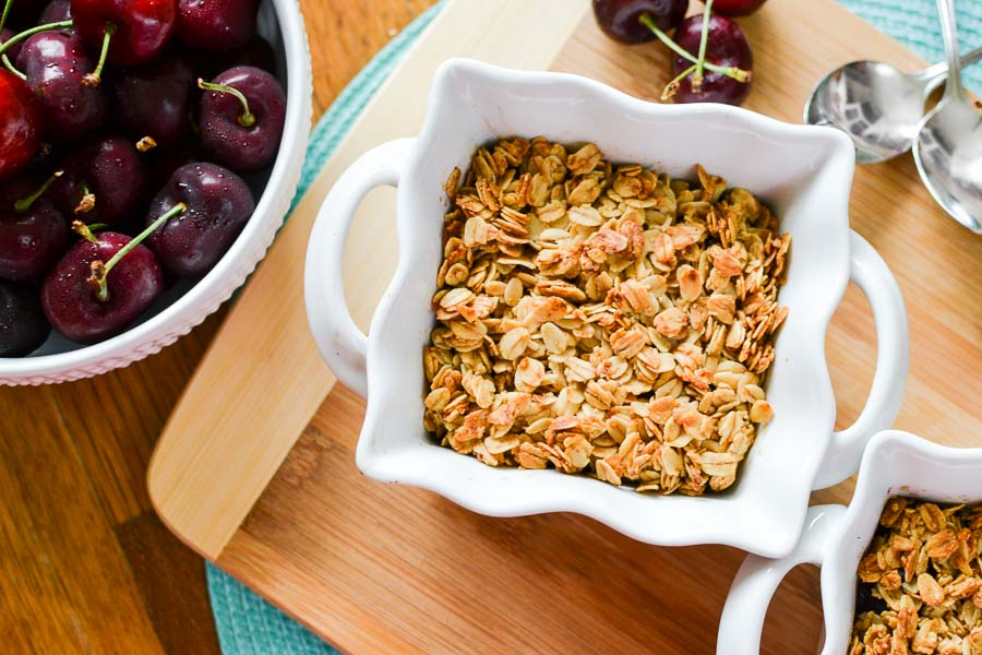 21 Day Fix Cherry Crisp