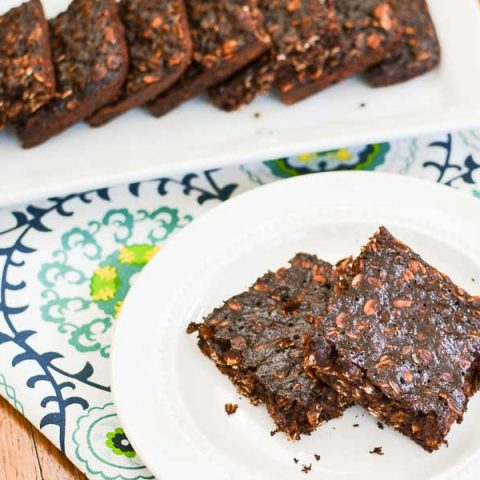 Cocoa Banana Oat Bars