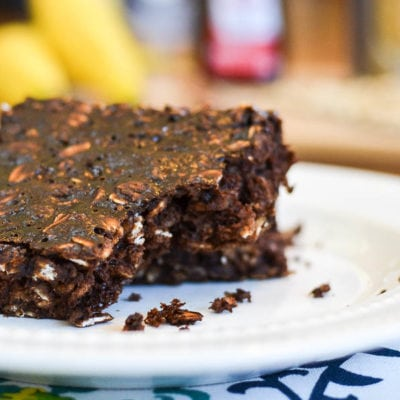 Cocoa-Banana Oat Bars
