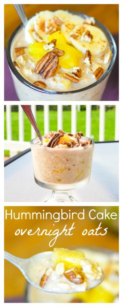 21 Day Fix Hummingbird Overnight Oats - Your new favorite make-ahead breakfast!