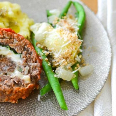 Italian Meatloaf Roulade {21 Day Fix}