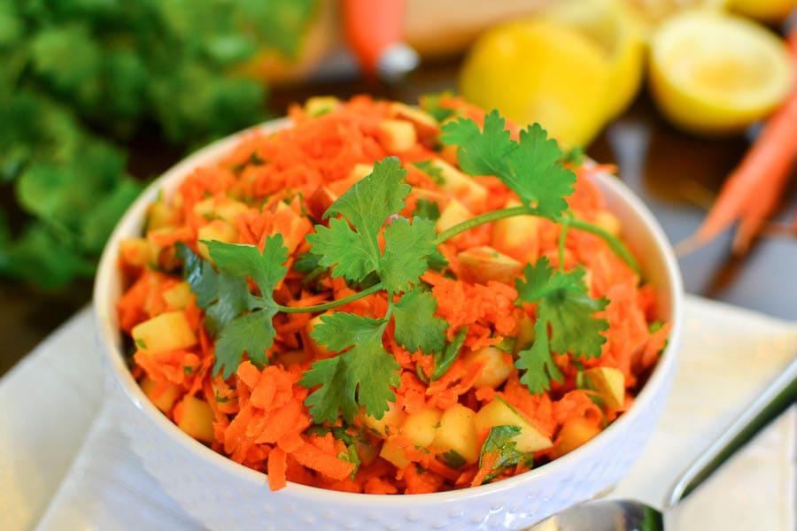 Carrot-Apple Salad