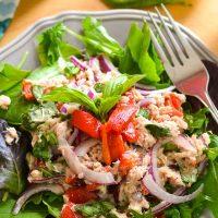 No Mayo Mediterranean Tuna Salad