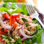 {No-Mayo} Mediterranean Tuna Salad