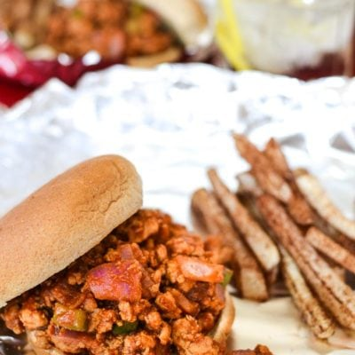 Instant Pot BBQ Sloppy Joes {21 Day Fix | Includes Stove Top Directions}