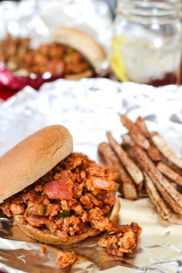 BBQ Turkey Joes | 15 Healthy Ground Turkey Recipes | Homemade Recipes