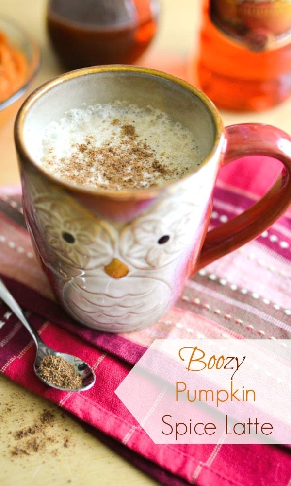 Boozy Pumpkin Spice Latte