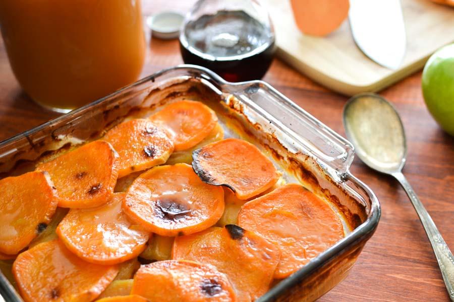 Cider-Glazed Sweet Potato and Apple Bake {21 Day Fix ...