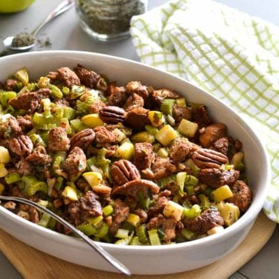 21 Day Fix Apple-Pecan Stuffing