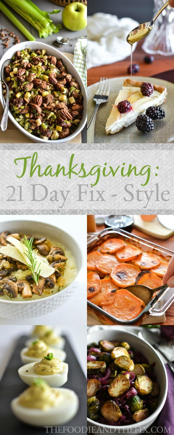 Thanksgiving 21 Day Fix Style