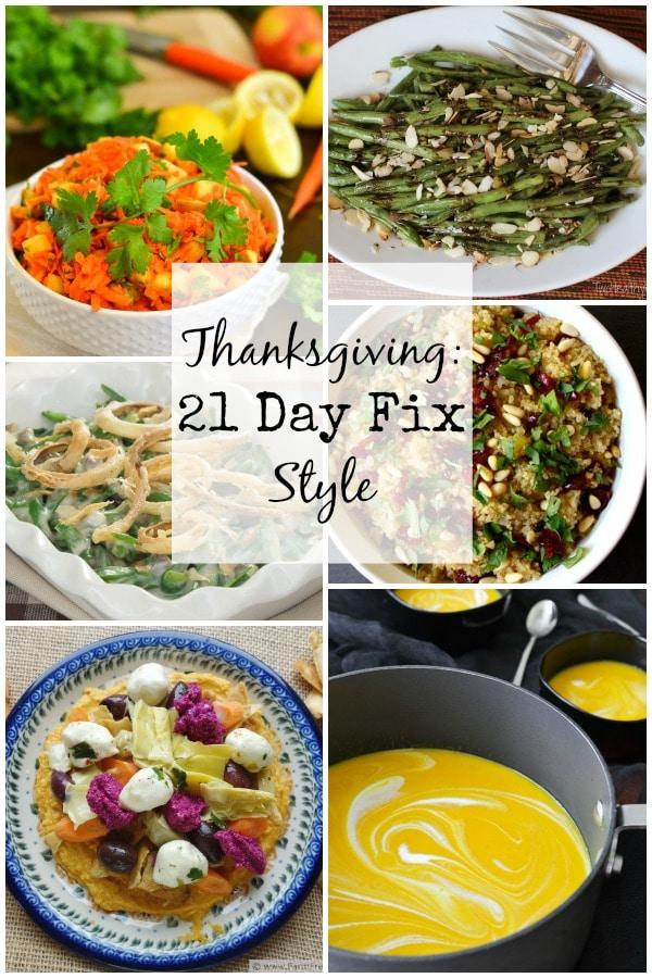 21 Day Fix Thanksgiving