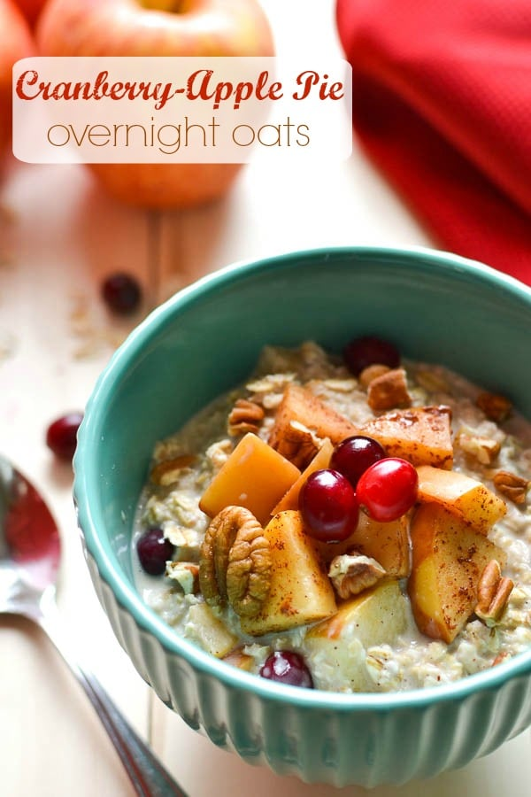 Cranberry-Apple Overnight Oats