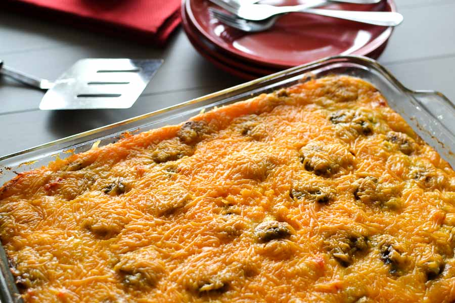 Healthy, Make-Ahead Sausage and Egg Breakfast Casserole
