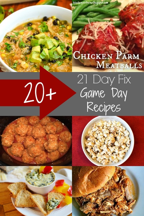 21 day fix game day