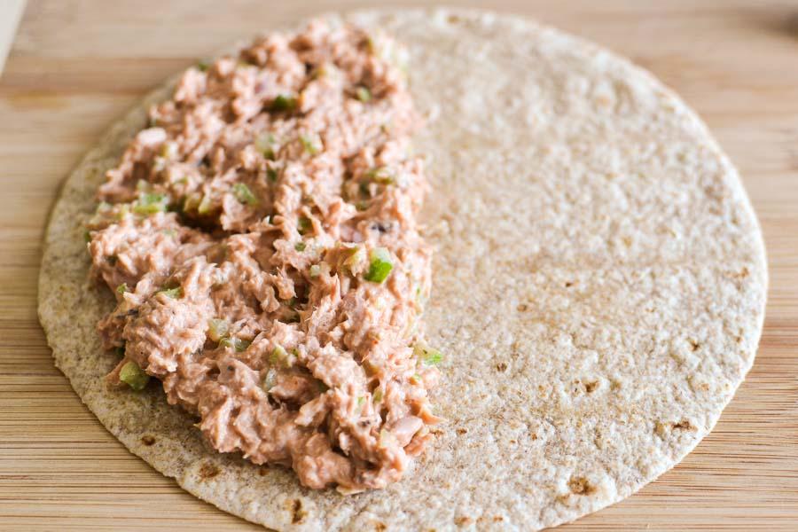 Spicy Tuna Quesadilla