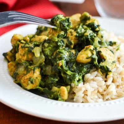 Skinny Saag Chicken