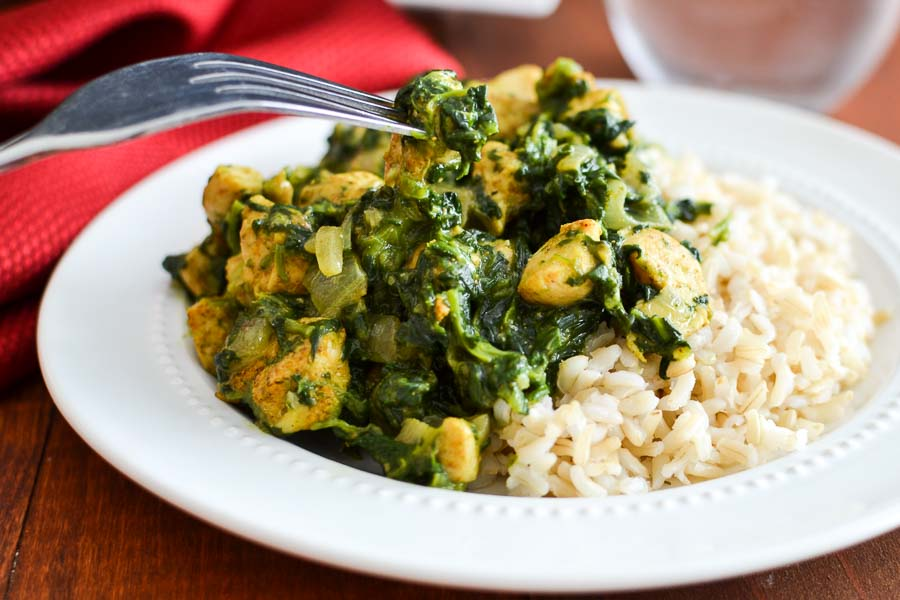 recipe: saag chicken recipe [7]