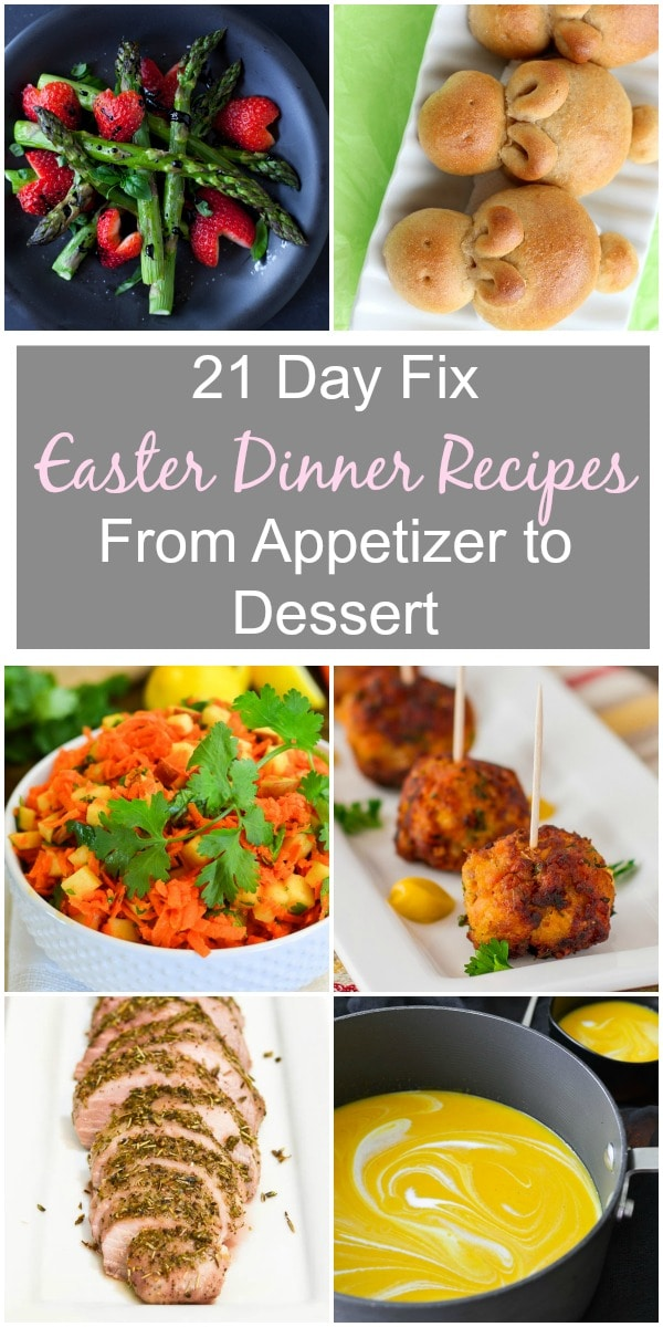 21 Day Fix Easter Dinner Recipes