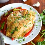 Baked Asian Tilapia Stir-Fry