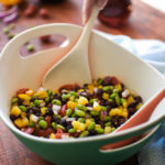 Edamame-Black Bean Salad with Red Wine Vinaigrette