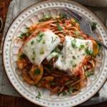 Halibut Fra Diavolo {21 Day Fix}