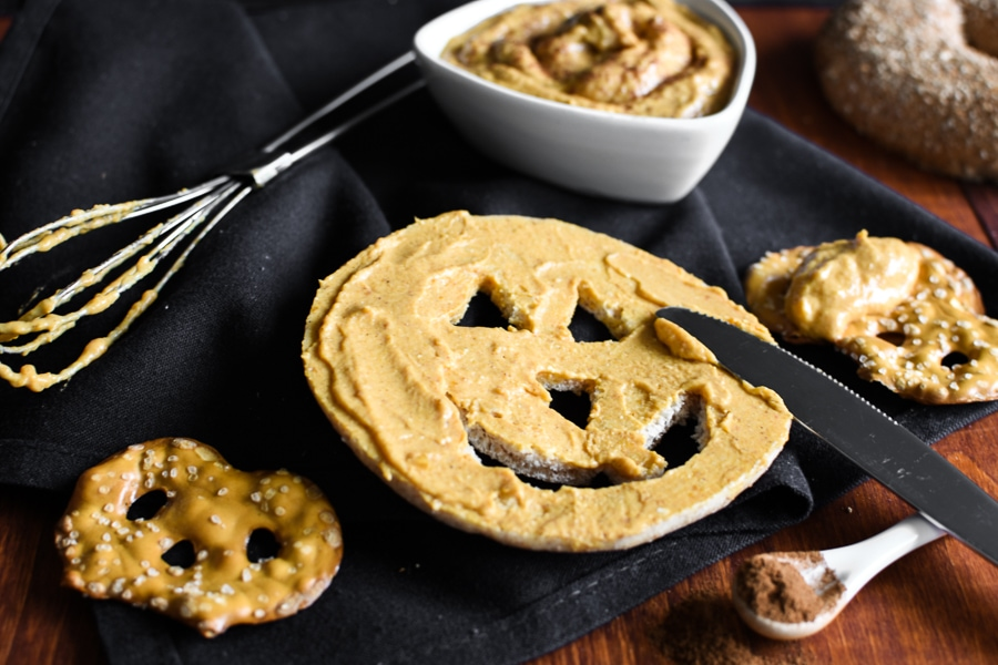 Pumpkin Goat Cheese Spread