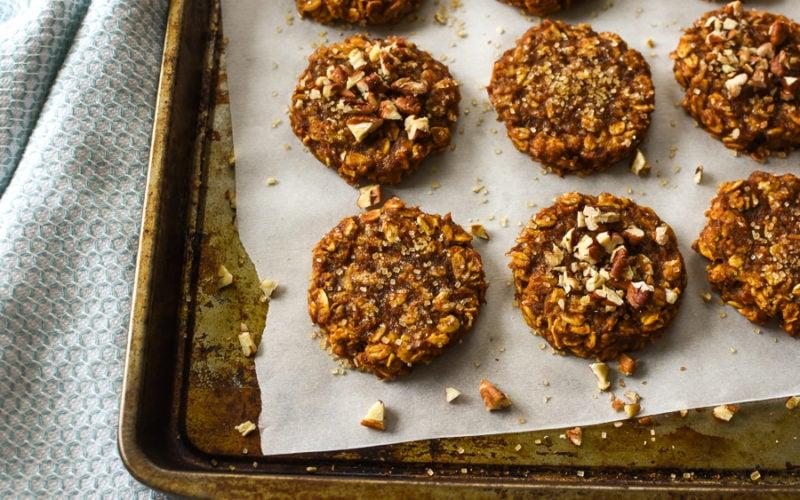 21 Day Fix Pumpkin Oat Cookies