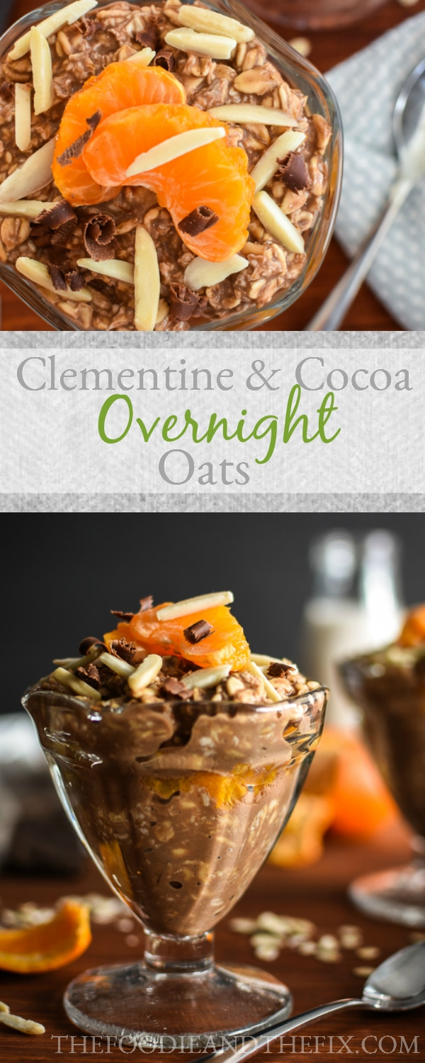 21 Day Fix Clementine & Cocoa Overnight Oats