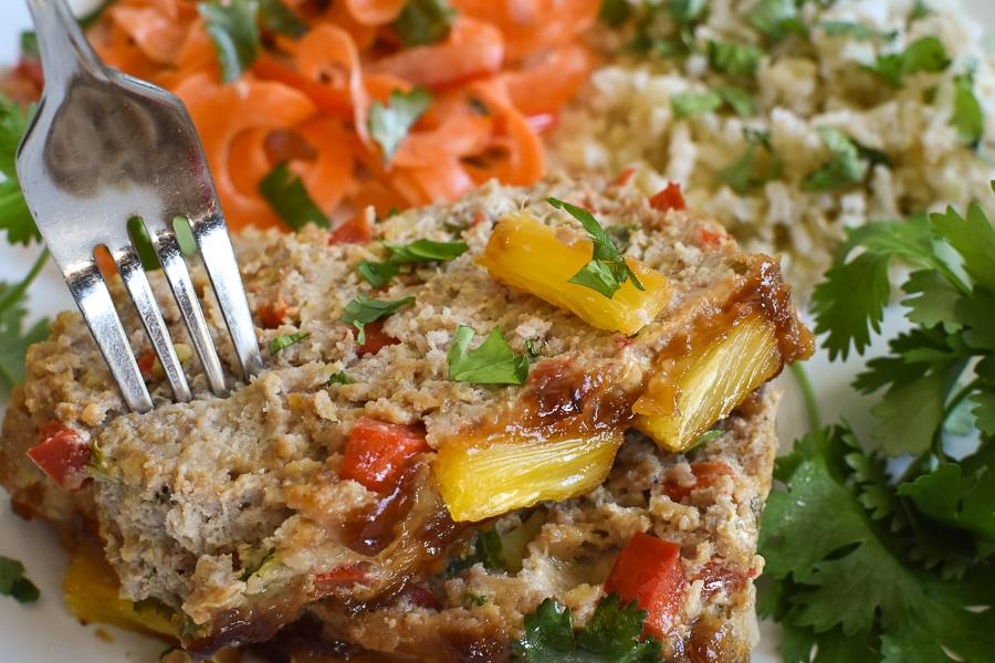 21 Day Fix Ginger Teriyaki Turkey Meatloaf