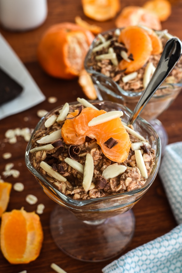Clementine and Cocoa Overnight Oats
