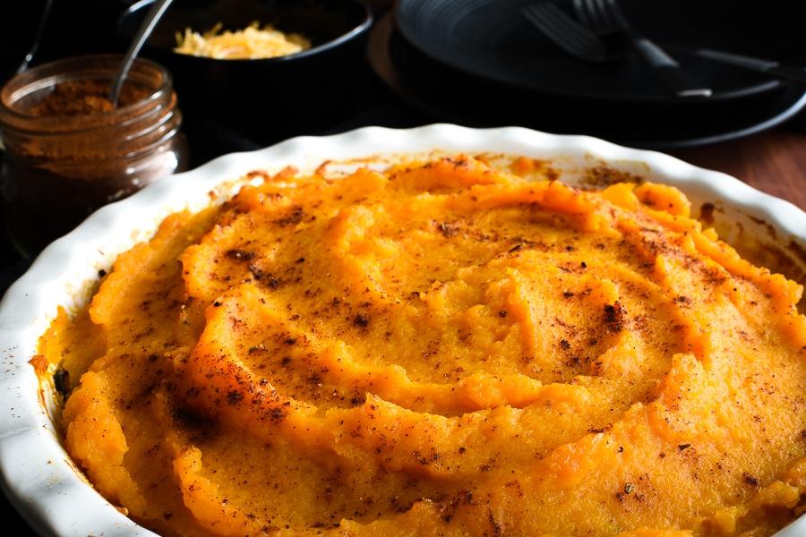 21 Day Fix Southwestern Pasta Pie {Halloween}