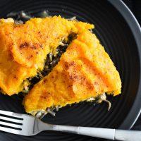 Cheesy Southwestern Chicken Pasta Pie