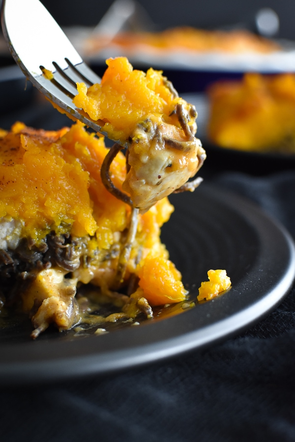 21 Day Fix Southwestern Pasta Pie {Halloween}