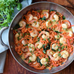 One Pan Thai Shrimp and Vegetables {Swimming Rama}