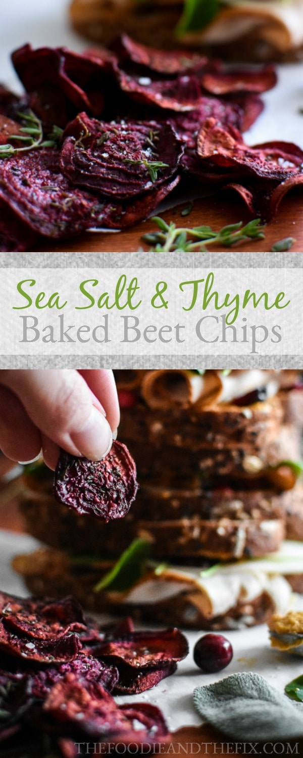 21 Day Fix Sea Salt And Thyme Baked Beet Chips