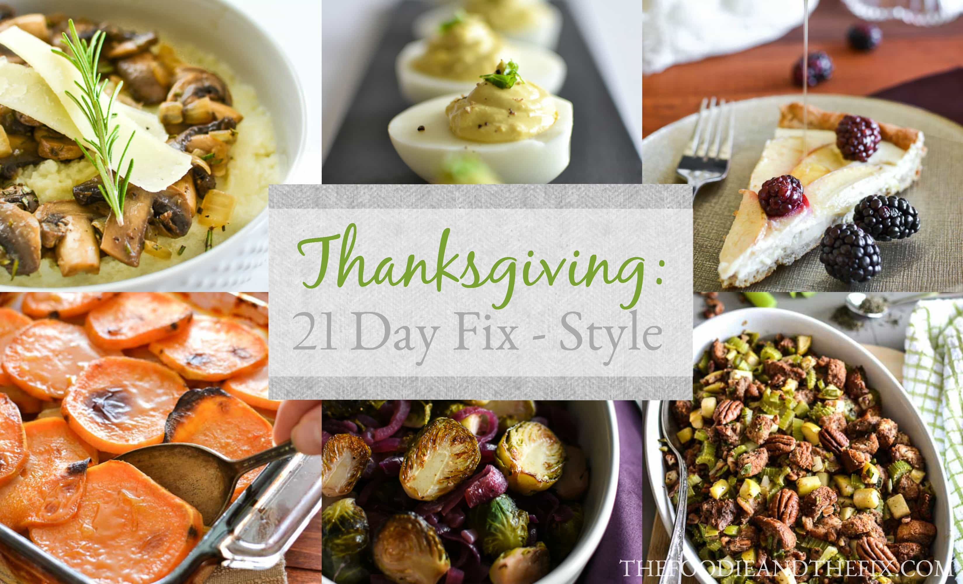 21 Day Fix Thanksgiving
