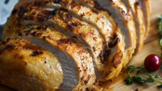 21 Day Fix Slow-Cooker Turkey Breast with Two Sauces