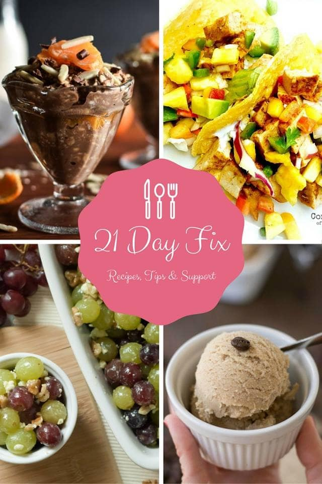 21 Day Fix Recipes, Tips & Support